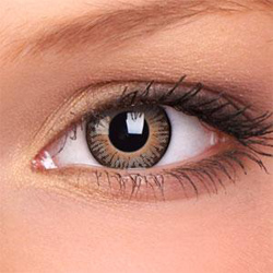 3-Tone Brown Contact Lenses