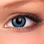 Aqua Glamour Contact Lenses