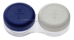 Screw Top Coloured Contact Lens Case