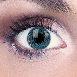 Natural Aqua Blue Contact Lenses