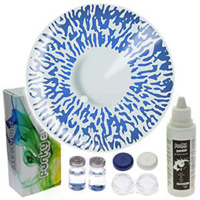 Natural Blue Contact Lens Kit